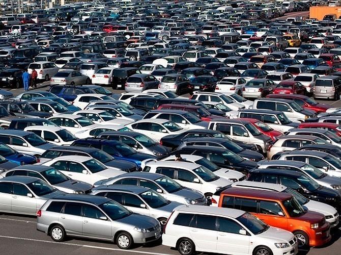 Соотношение первичного ивторичного рынков легковых авто в русских областях