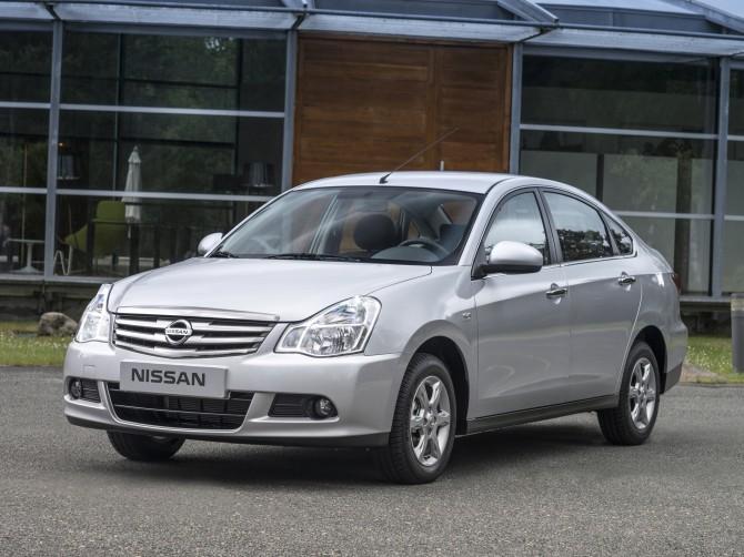 Ниссан  Almera стал майским лидером продаж авто  в Российской Федерации