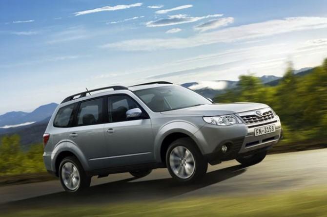 Субару отозвал в РФ практически 25 тыс. авто