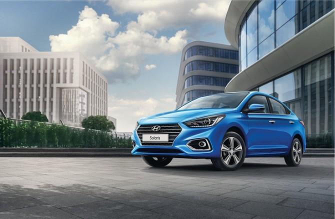 Hyundai Solaris в мае стал лидером рынка Москвы