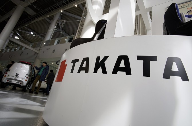 Производитель подушек безопасности Takata объявил обанкротстве