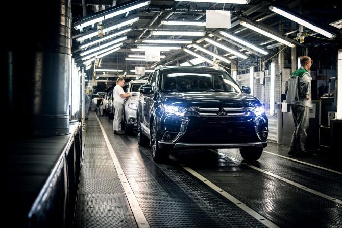 Mitsubishi Outlander ПСМА