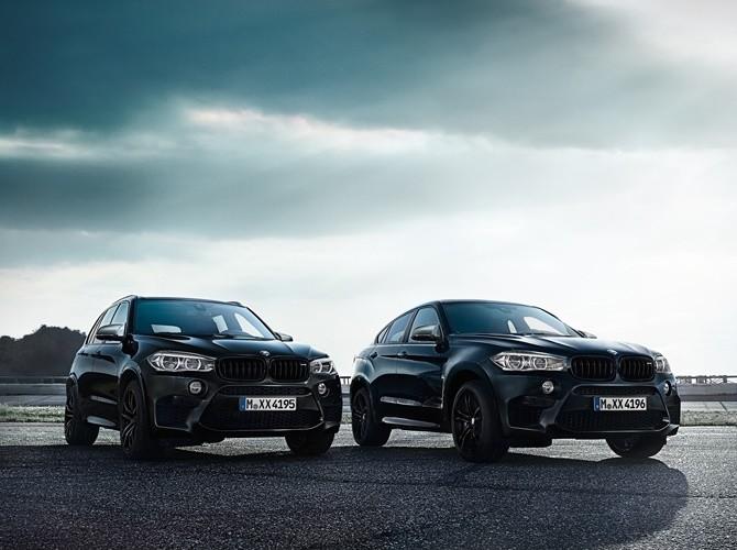 BMW представиРкроссоверы X5 M и X6 M в версии The Black Fire Edition