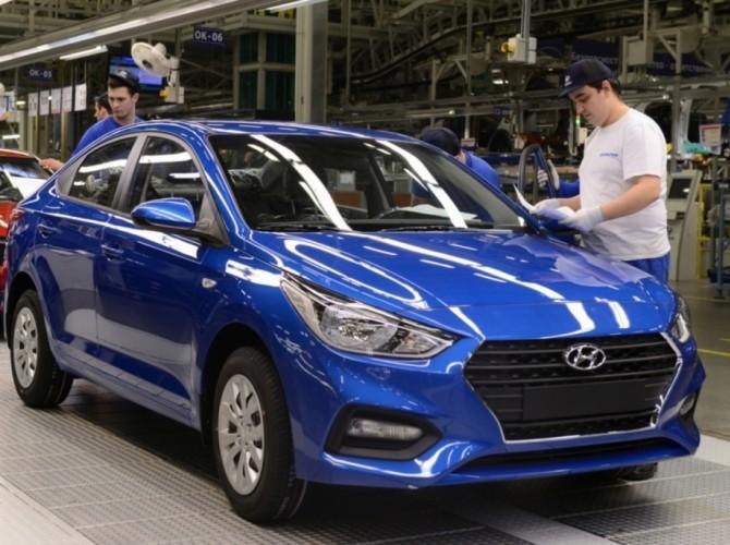 Петербургский завод Hyundai в первом полугодии увеличил производство на 17%