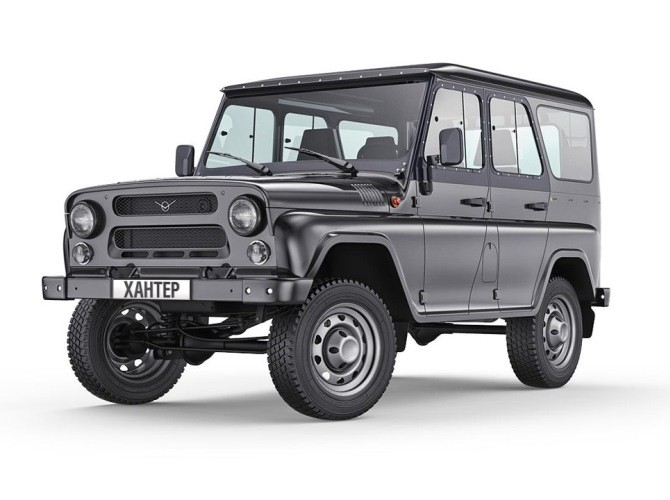 В РФ отзовут 11068 авто «УАЗ Хантер»