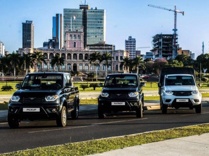 УАЗ объявил оботзыве 70 000 авто из-за дефекта тормозов