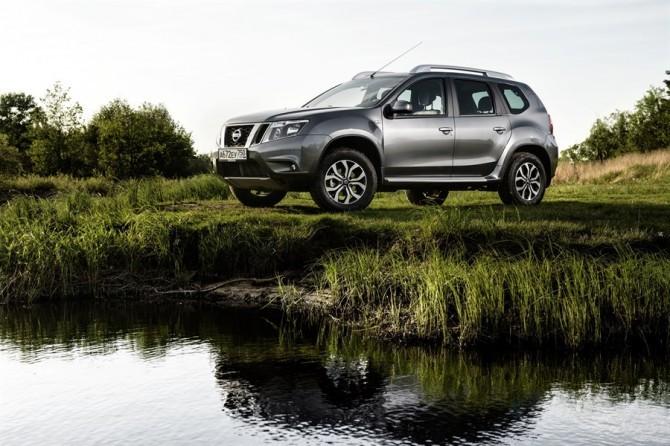 Кроссовер Nissan Terrano в июне стал бестселлером марки в России