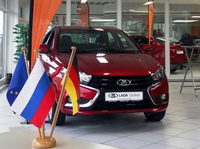 Продажи автомобилей LADA в Евросоюзе в первом полугодии выросли на 32%
