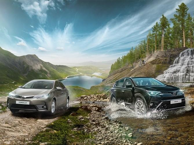 Toyota RAV4 и Corolla доступны в кредит без первоначального взноса