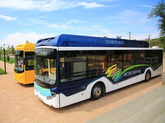 В Волгограде представили первый электробус Volgabus