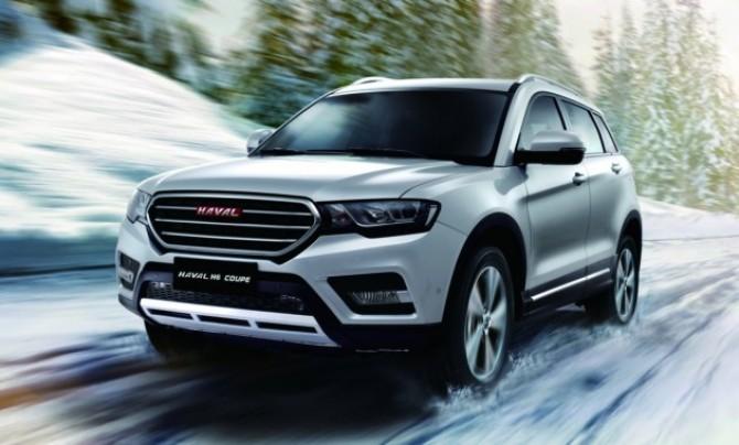 Haval выведет на русский рынок автомобилей новый кроссовер H6 Coupe