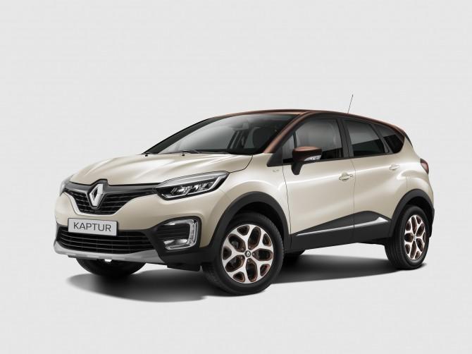 Renault Kaptur получил «экстремальную» спецверсию