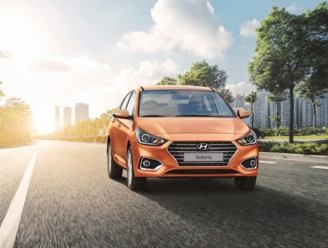 Hyundai Solaris в июле стал лидером рынка Москвы