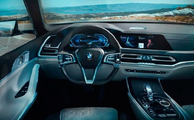 РЎР°РРѕРЅ BMW X7