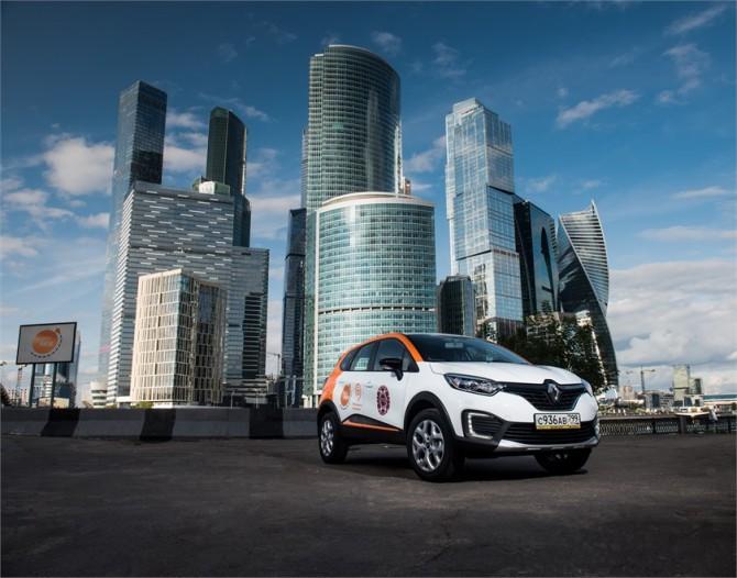 В столице России начал работу новый сервис каршеринга Easyride