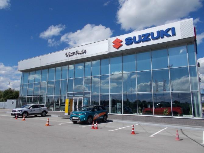 Suzuki открыла новый дилерский центр в Рязани