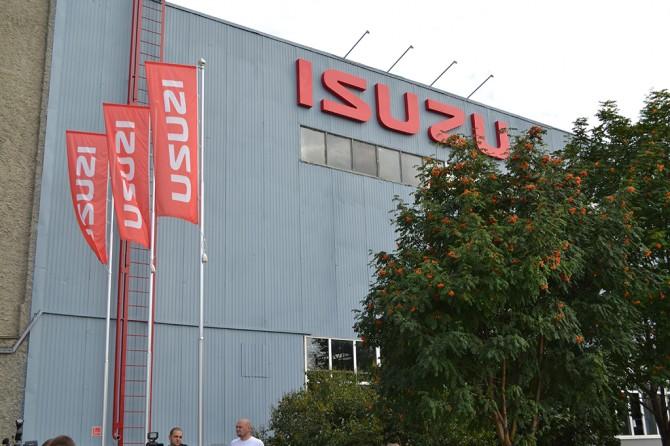 Isuzu увеличивает план производства авто вРФ на этот год