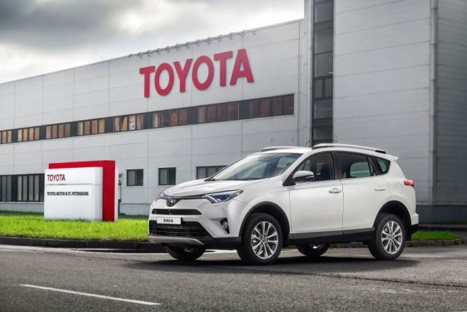 Петербургский завод Тойота удвоил производство иувеличил экспорт