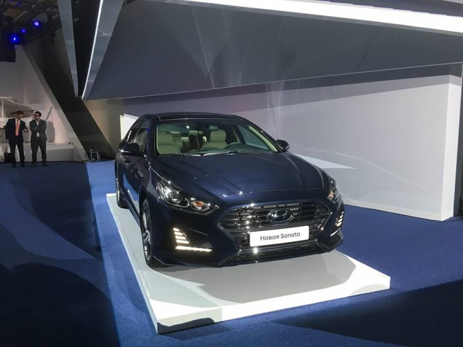 Возвращение Hyundai Sonata на российский рынок