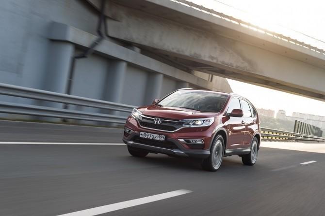 Honda CR-V 4-го поколения вернулась на российский рынок