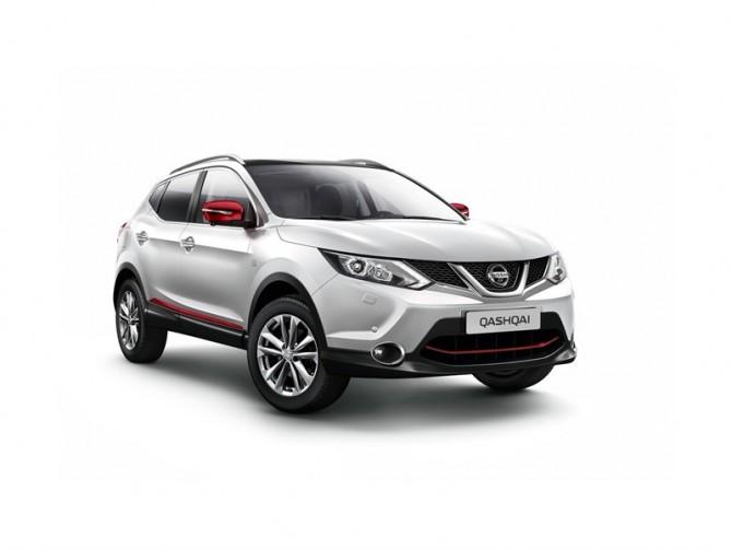 Nissan Qashqai получил юбилейную спецверсию в России