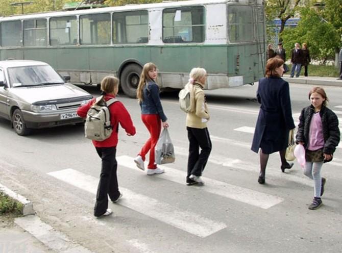Штраф за непропуск пешеходов будет выше