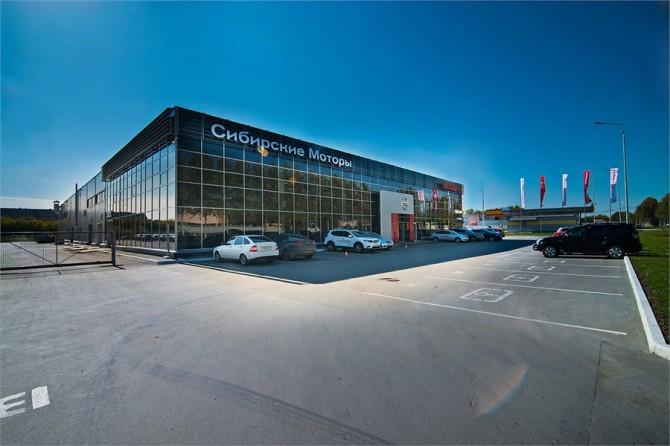 Новый дилерский центр Nissan появился вНовосибирске