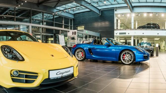 В Российской Федерации растут продажи авто Порше влизинг