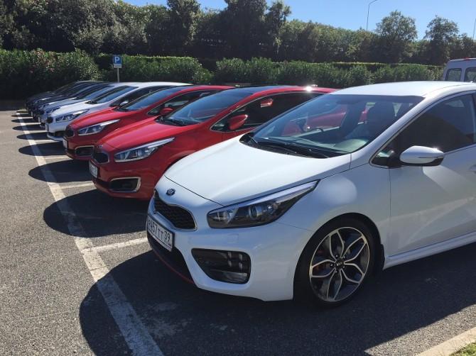 KIA Ceed cars