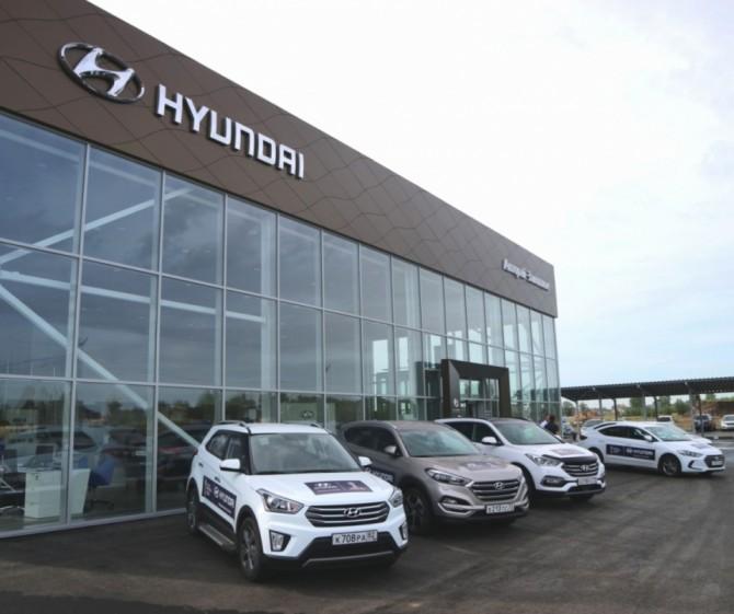 Hyundai открыла новый дилерский центр в Ульяновске