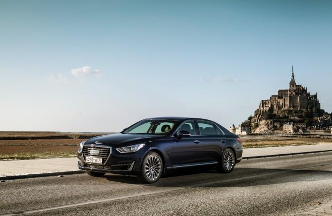 Genesis с начала года реализовал более 700 автомобилей в России