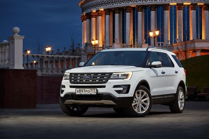 Продажи Форд  осенью  на русском  рынке увеличились  на33%