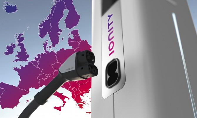 Автоконцерны создают общеевропейскую сеть зарядных станций электромобилей
