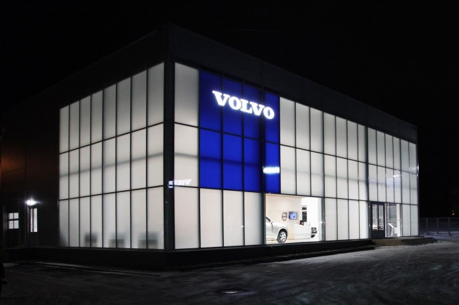 Volvo откроет вРоссии еще 11 дилерских центров
