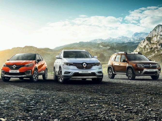 Renault – лидер продаж автомобилей сегмента SUV в России