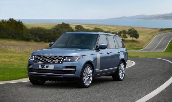 обновленный Range Rover