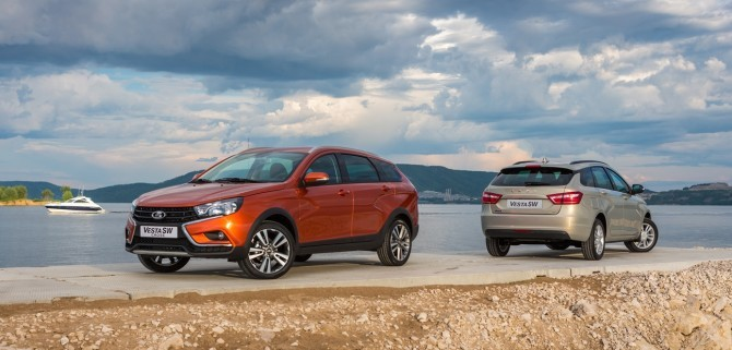 LADA Vesta SW и Vesta SW Cross