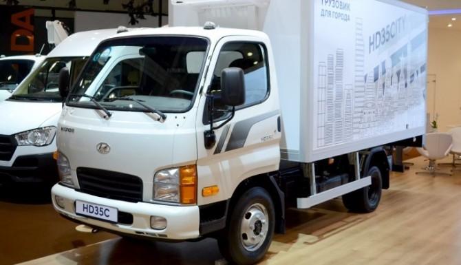 Hyundai в России начал продажи нового грузовика Hyundai HD35 City