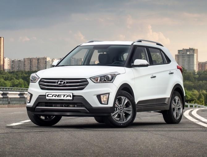 Hyundai Creta в октябре стал самым продаваемым автомобилем в Санкт-Петербурге