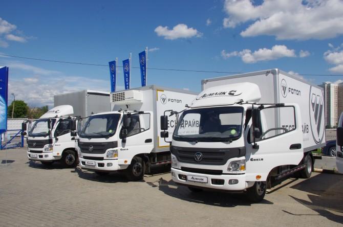 грузовики Foton