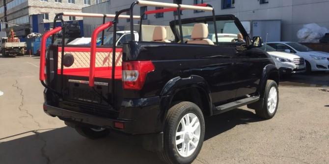 УАЗ «Патриот» получит версию «кабриолет»