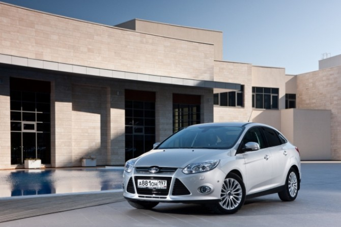 Ford Focus - лидер столичного автопарка