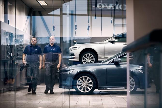 Volvo внедряет концепцию персонального сервиса в России