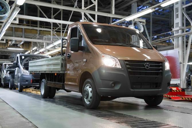 В Российской Федерации  стартовало производство новых «ГАЗель NEXT» и«ГАЗон NEXT»