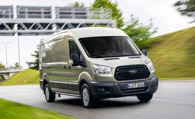 Ford Transit drive