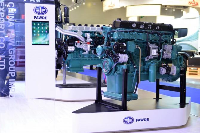 Грузовики FAW получили новые двигатели в России