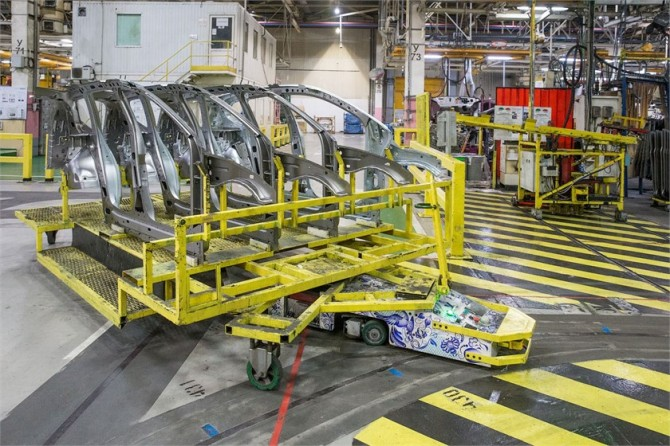 Московский завод Рено выпустил транспортные беспилотники