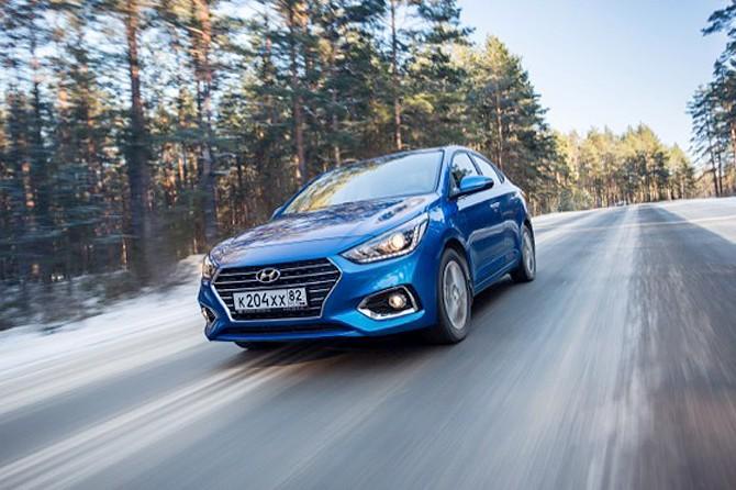 Hyundai Solaris в 2017 году сохранил лидерство на рынке Санкт-Петербурга