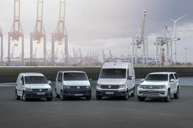 Volkswagen в 2017 году увеличил продажи LCV в России на 9%