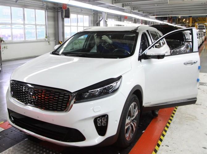 Кия Sorento Prime врестайлинговой версии начал производится в РФ